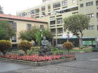 Канарские острова. Тенерифе. На улицах города Пуэрто де ла Крус