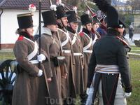 Местные любители старины, рассказывают о русской армии