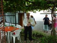 Гостеприимство в болгарской деревне
