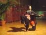 Показ кералинских танцев устроили в пасхальный вечер