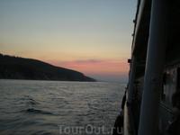 Волга на закате