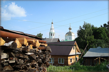 вид на Спасскую церковь