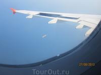 Подлетаем к Стамбулу