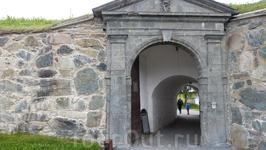 Тронхейм, вход в крепость.