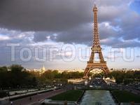Панорама Эйфелевой башни