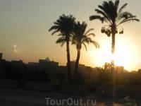 Закат в Каире