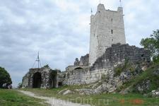 крепость в новом афоне