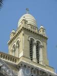 Тунис, столица Туниса. Современный центр. Католический храм.