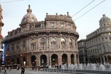 Центральная площадь в Генуе