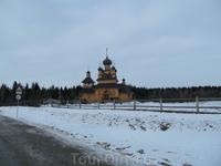 Храм расположен рядом с основным музейным комплексом
