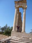 Курион. Храм Аполлона Хилатского.