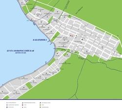 Карта Кабардинки