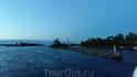 Заходим  в Ладожское озеро .