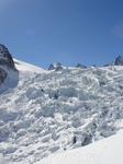 Ледник движется примерно 1м в сутки