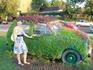 Креативный зелёный автомобиль)