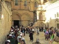 Христианский мир  Мы входим через Яффские ворота и оказываемся  в Старом городе Иерусалима, за высокими каменными стенами.  Отшлифованные подошвами путников ...