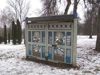 Эти ворота восстановлены по старым фото.