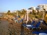 общественный пляж в Сталиде (лежаки и зонтики за плату)