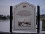 Мемориальная доска в честь установки первого электрического фонаря в городе Вологда, установленного в 1904 году