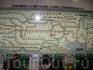 карта наземного метрополитена