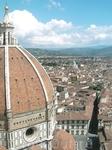 Вид с колокольни Джотто на знаменитый купол