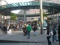 Центральный пересадочный узел и страсбургский трамвай