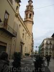 На улице в  Валенсии
