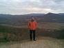 на пол-пути на плато