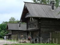 В музее деревянного зодчества Витославлицы. Изба Царевой из д.Пырищи (первая половина ХIХ века)
