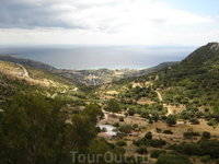 Греция. о.Кефалония. Вид на море от Монастыря Успения Пресвятой Богородицы,или Фидетисы.