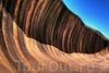 Скала Каменная волна в Австралии