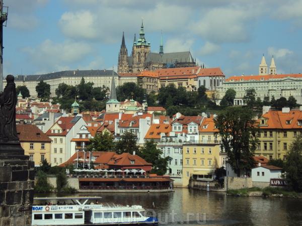 Пражский град с Карлова моста
