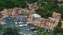 Вид на Портофино из Замка Брауна