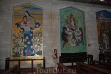католическая церковь Богородицы в Нижнем Назарете