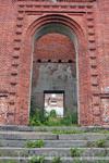 Церковь была построена в 1850 году по проекту Ц.Л. Енгеля. чему свидетельствует памятная табличка на стене церкви.