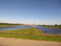 Вид на Рыбинск со стороны шлюзов