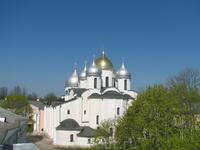 главный собор В.Новгородского Кремля - Софийский Собор