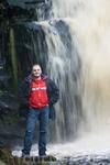 водопад ( белые столбы ) вроде так называется
