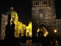 ночная красавица Прага