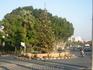слева от круга будет старая часть Никосии с самой известной улицой - Ledra street - именно на этой улице находится один из КПП с турецкой частью - всего ...