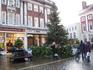 Одна из площадей старого Йорка перед Рождеством.