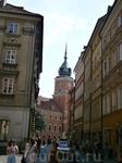 Варшава. Она из главных улиц старого города