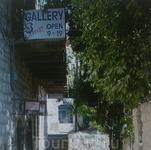 Вход в одну из художественных галерей.