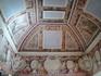Расписные своды в верхнем салоне дворца