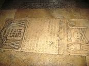 А это могила в церкви. Да, хоронили монахов прямо в церквях
