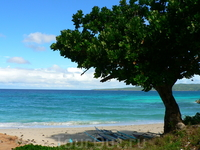 Пляж с другой стороны острова