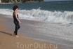 Пляж в Ллорет де маре