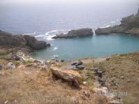 Вид с шоссе на бухту Святого Павла