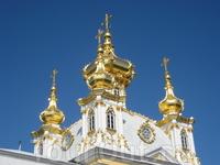 Золотые купола Большого дворца