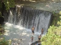 Водопад на лечебных источниках Аридеи